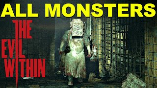 getlinkyoutube.com-All Monsters In The Evil Within - ULTIMATE ENEMIES GUIDE!