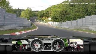Mercedes SLS AMG Black Nürburgring Lap Record!