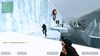 getlinkyoutube.com-Counter Strike Source Zombie Escape mod online gameplay on Icecap Escape