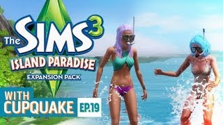 "getlinkyoutube.com-""SHARK ATTACK"" Sims 3 Island Paradise Ep 19"