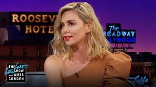 Charlize Theron Was Called Out for Speaking Afrikaans width=
