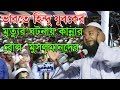 Bangla Waz 2017 ভারতে হিন্দু যুবকের ঘটনা নিয়ে তুলপার সৃষ্ঠি হওয়া সেই ওয়াজটি শুনুন Islamic Waz 2017
