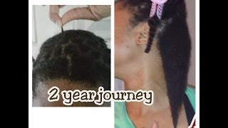 My Two (2) Year Natural Hair Journey (4C)