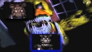 getlinkyoutube.com-[V1] FNAF 4 Jumpscares - Sparta Velocity Remix V1.5