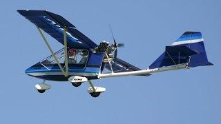getlinkyoutube.com-CGS Hawk Ultralight Aircraft learn to fly by Roy Dawson video
