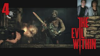 getlinkyoutube.com-The Evil Within - CHAINSAW FIGHT! - Episode 4