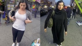 getlinkyoutube.com-10 Hours of Walking in NYC as a Woman in Hijab