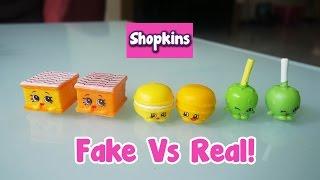 getlinkyoutube.com-Fake Shopkins Vs Real Shopkins! | Vlog Ep.6