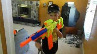 getlinkyoutube.com-Nerf War The Movie