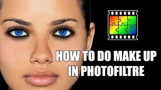 getlinkyoutube.com-Photofiltre Make up tutorial