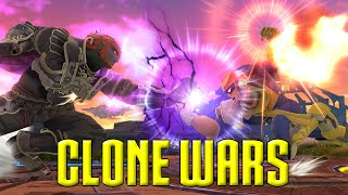 getlinkyoutube.com-Clone Wars: Captain Falcon VS. Ganondorf (The Differences)