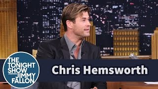 getlinkyoutube.com-Chris and Liam Hemsworth Doodle on Each Other's Magazine Covers