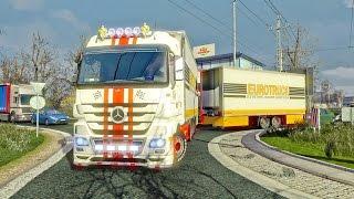 getlinkyoutube.com-Mercedes Benz Tandem ETS2 (Euro Truck Simulator 2)