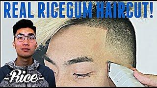 BARBER TUTORIAL : RICEGUM HAIRCUT HD !   Ft. Ricegum