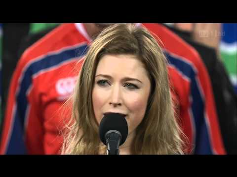 God Defend New Zealand - Hayley Westenra - Rugby World Cup Final 2011