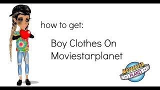 getlinkyoutube.com-How To Get Boy Clothes On MSP *tutorial*