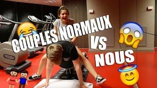 getlinkyoutube.com-♡ COUPLES NORMAUX VS NOUS A LA SALLE DE SPORT ! ♡