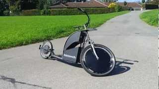 getlinkyoutube.com-AUTOPED Electric Scooter E Bike Roller Diggler Kikebike Footbike
