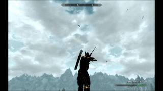 getlinkyoutube.com-Skyrim Archer SkillShot 3 (birds)