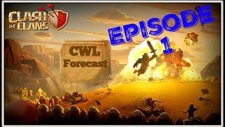 Clash of Clans CWL Forecast With Powerbang Episode 1 (Season 2 Week 2)