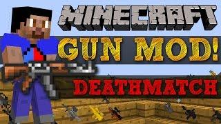 getlinkyoutube.com-Minecraft Mods - GUN MOD DEATHMATCH #2 (HIGHRISE) with Vikkstar, BajanCanadian, Woofless & JeromeASF