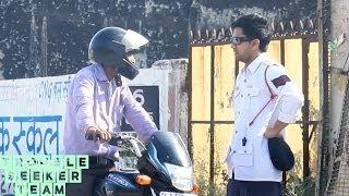 getlinkyoutube.com-Surprise Traffic Challan Prank | TST Pranks