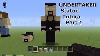 getlinkyoutube.com-Minecraft Tutorial - How To Make a WWE UNDERTAKER Statue part 1
