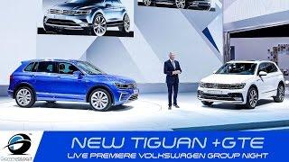 getlinkyoutube.com-NEW 2016 Volkswagen TIGUAN R-line + Tiguan GTE | LIVE Premiere