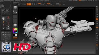 "getlinkyoutube.com-CGI 3D Tutorial HD: ""War Machine: Zbrush Tutorial"" - by Joe Grundfast"