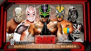 WWE RAW 2K16 - Lucha Dragons Add a New Member - Rey Mysterio, Kalisto & Sin Cara Mods