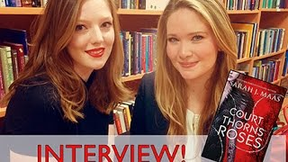 getlinkyoutube.com-Q&A WITH SARAH J. MAAS! | The Book Belle