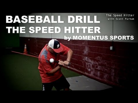 Baseball Drill - Increase your Bat Speed - The Speed Hitter - with Scott Parham