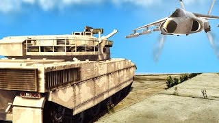 getlinkyoutube.com-TANKS vs. HYDRAS! (GTA 5 Funny Moments)