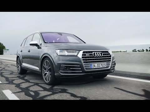Обзор Audi SQ7 2016 Online