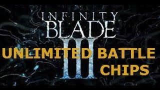 getlinkyoutube.com-Unlimited Battle Chip Glitch Infinity Blade 3 (Patched)