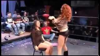 Sexy Maria Kanellis Gives A Sexy Lap Dance