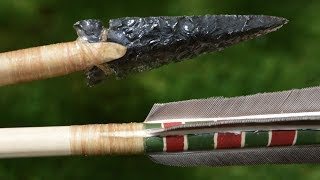 getlinkyoutube.com-Ishi Arrow Part 1. How to make a primitive Native American Arrow for primitive archery hunting