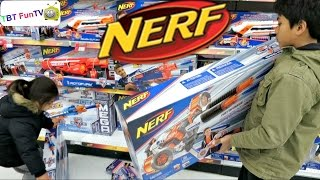 "getlinkyoutube.com-NERF Shopping at TOYS ""R"" US"