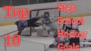 getlinkyoutube.com-Top 10 High School Hockey Goals
