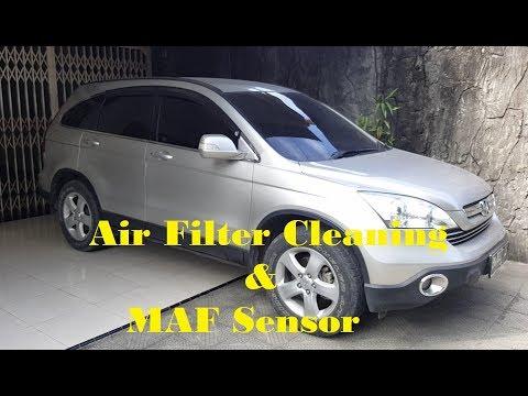 How to Maintain clean Air filter & MAF sensor CRV 2008
