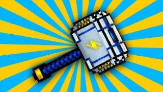 getlinkyoutube.com-Pixel Gun 3D - Storm Hammer [Review]