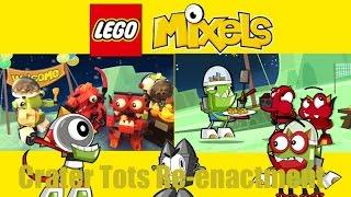 getlinkyoutube.com-Lego Mixels Crater Tots Re-Enactment
