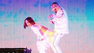 "getlinkyoutube.com-Rihanna Performs ""Consideration"" & Twerks On Drake During ""Work"" BRITs Performance"