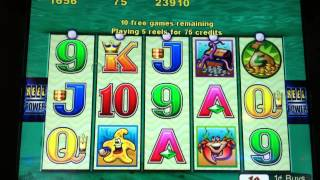 getlinkyoutube.com-Awesome Whales of Cash Slot Machine 25 Spin Bonus 2 Whales in Trigger!
