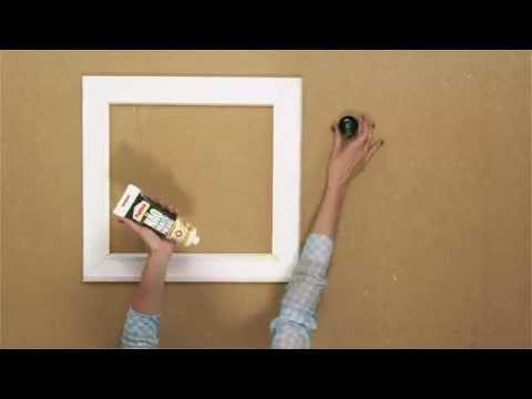 Bricofans | Criar quadros com molduras decorativas