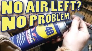 getlinkyoutube.com-Refill flat AEROSOL Spray Cans like the WD-40 and others