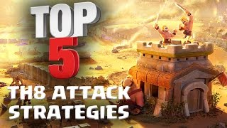 getlinkyoutube.com-Top 5 BEST TH8 Attack Strategy for 3 Stars in Clan Wars | ft. Reddit Pirates | Clash of Clans