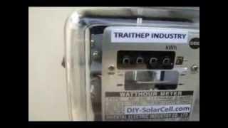 getlinkyoutube.com-ตัวอย่างการนำ On grid inverter 300 วัตต์ มาช่วยลดค่าไฟฟ้า