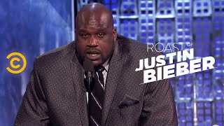 getlinkyoutube.com-Roast of Justin Bieber - Shaquille O'Neal - Straighten Up - Uncensored