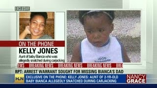 Baby Bianca's aunt: We'll never stop searching